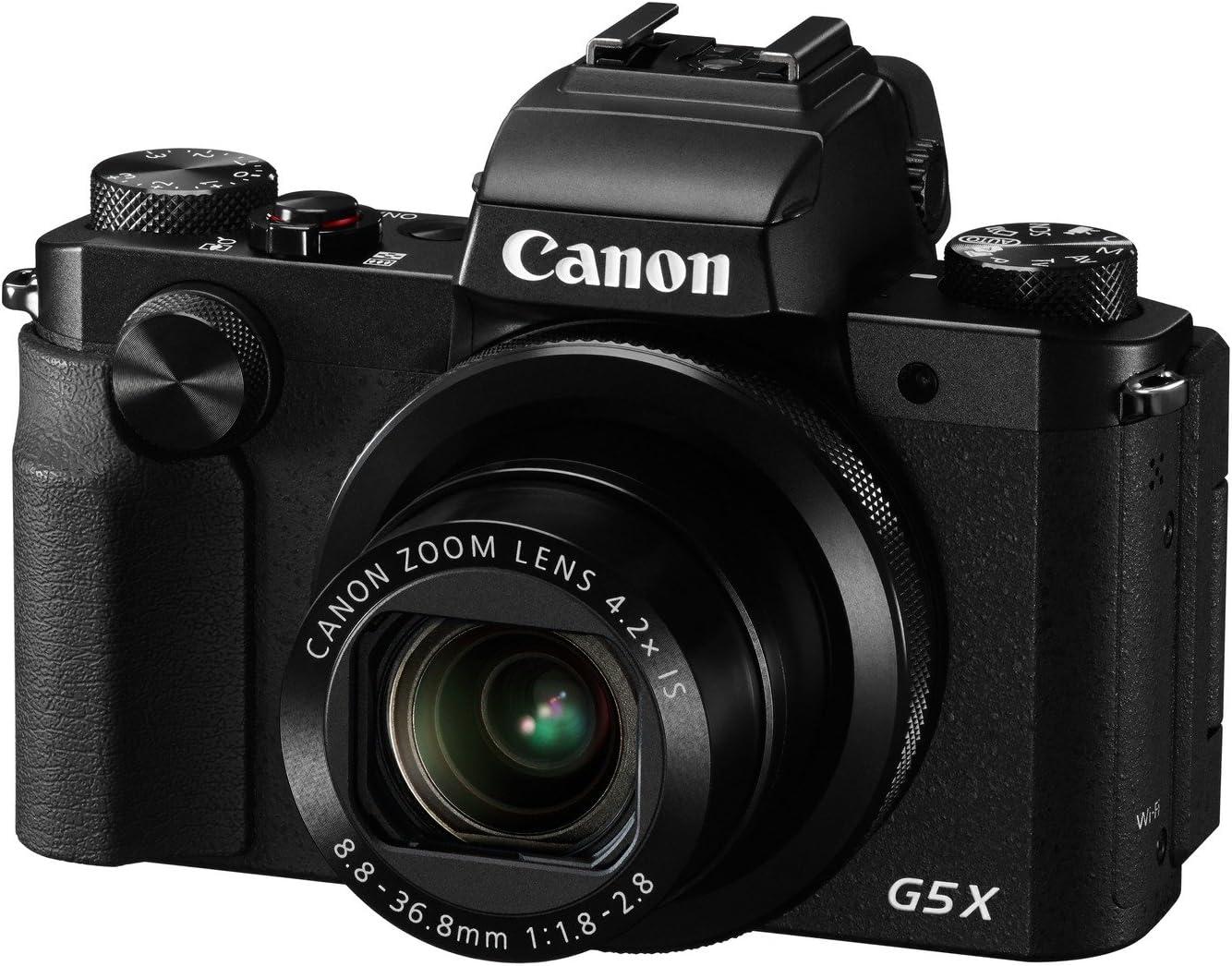 Canon PowerShot G5 X - Cámara compacta de 20.2 MP (Pantalla de 3