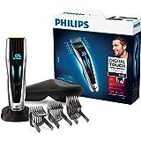 Philips Serie 9000 HC9450/20 - CortaPelos, Ajuste Fino cada 0.1 mm para Estilo Deseado, 9 Memorias Soporte de Carga y Funda, 120 min de Uso
