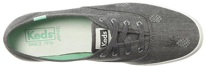 717c4cd9584 Keds Women s Champion Pineapple Chambray Sneakers  Amazon.ca  Shoes    Handbags