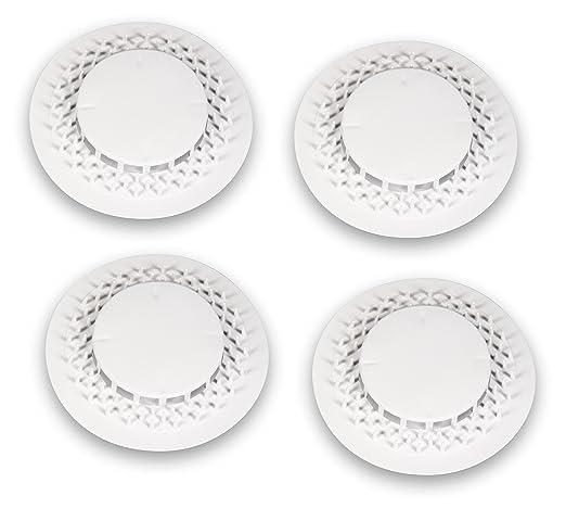 per lavello//lavandino 2 St/ück Abflusssiebe in acciaio inox Set filtro di scarico da 63 mm