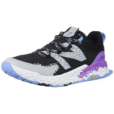 New Balance Women's Hierro V5 Fresh Foam Trail Running Shoe, Black/NEO VIOLET, 8 M US | Trail Running