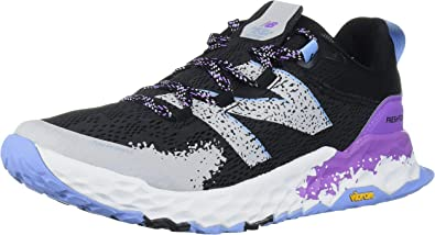 New Balance Hierro V5 Fresh Foam, Zapatillas para Carreras de montaña para Mujer, Negro Neo Violeta, 39 EU: Amazon.es: Zapatos y complementos