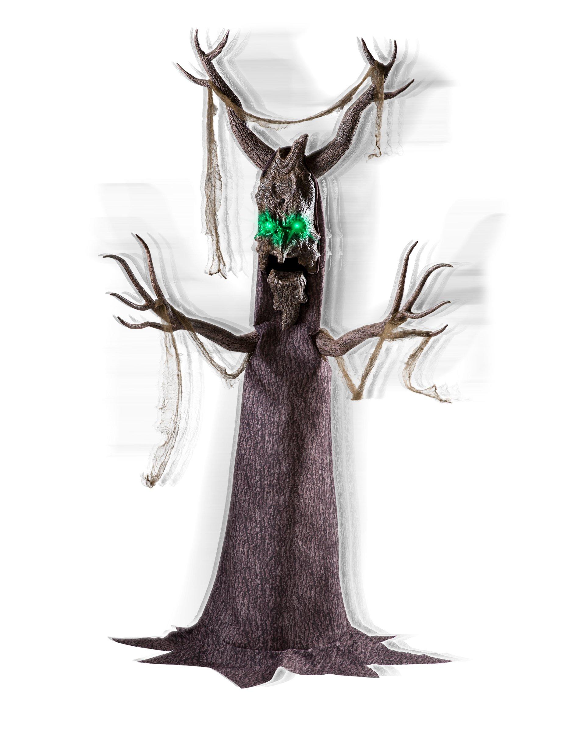 Spirit Halloween 6.5 Ft Deadly Roots Animatronics - Decorations