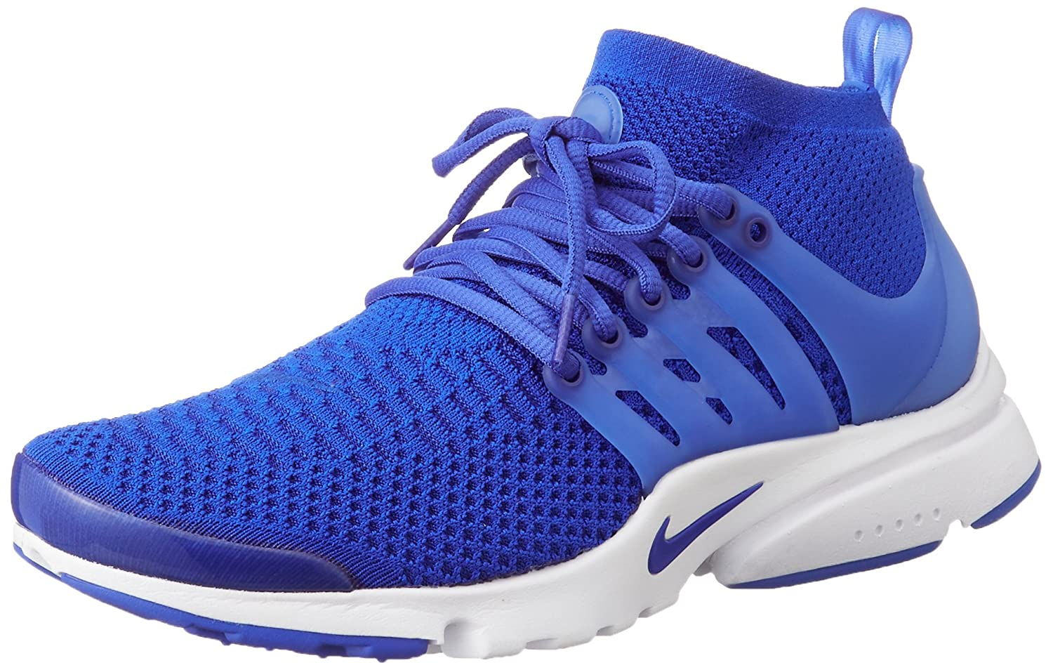 separation shoes 44eb5 e4cbf Nike Men s Air Presto Flyknit Ultra RACER BLUE RACER BLUE-WHITE-TOTAL  CRIMSON RACER BLUE RACER BLUE-WHITE-TOTAL CRIMSON 9.5 D(M) US  Amazon.in   Shoes   ...