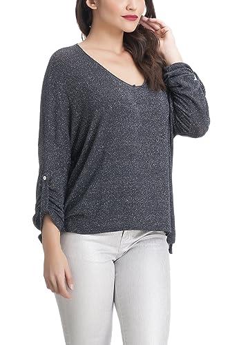 Laura Moretti – Suéter o Jersey fino estilo oversized con brillo