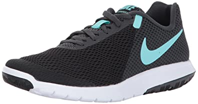d90ef35133 Nike Women s WMNS Flex Experience Rn 6 Black Aurora Green Running Shoes-4 UK