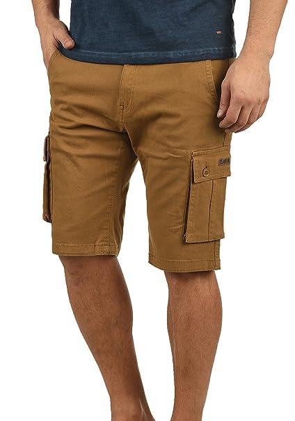 !Solid Laurus - Pantalones Cortos de Carga para Hombre: Amazon.es: Ropa y accesorios