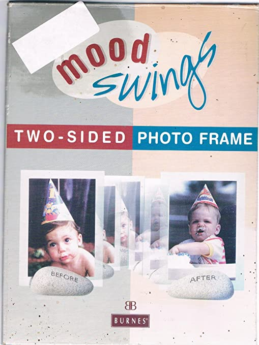 Amazoncom Mood Swings Two Sided Photo Frame Before After