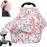 Nursing Cover Car Seat covers for Babies, Multi-use Stroller Carseat Canopy, Breastfeeding Covers, Boys and Girls Shower Part