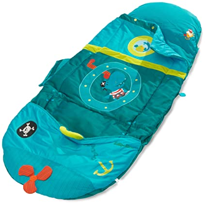 Lilliputiens 86337 - Saco de dormir infantil, color azul
