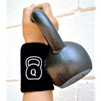 Quest Kettlebell Wrist Guard (Pair) with Pad - Crossfit WOD Training Arm Guards
