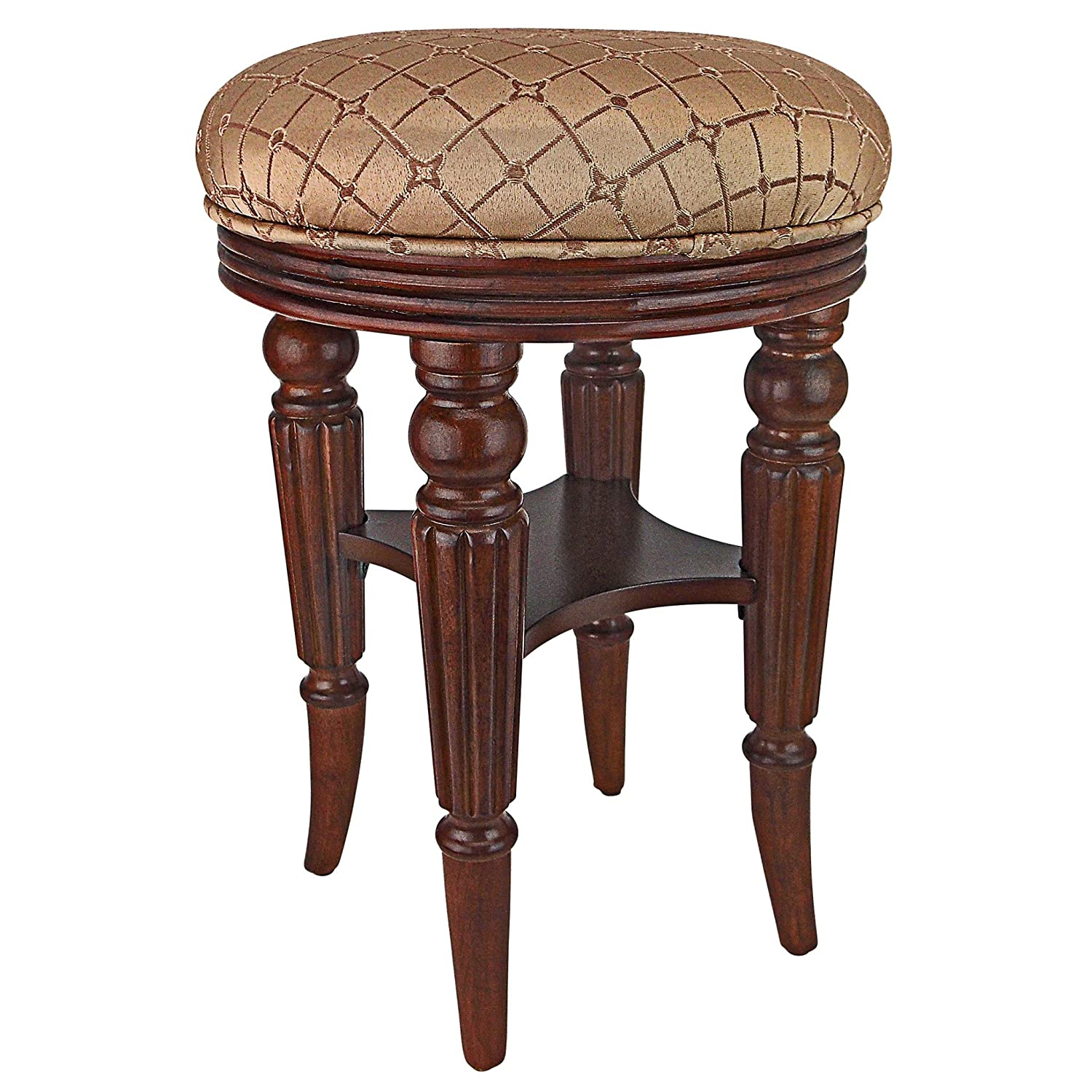 Cool Amazon Com Design Toscano Browning Victorian Vanity Stool Ocoug Best Dining Table And Chair Ideas Images Ocougorg