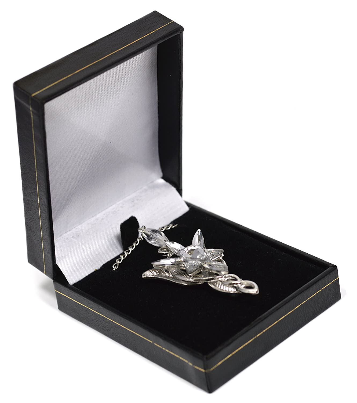 Colgante de cristal de Arwen de El Señor de los anillos incluye