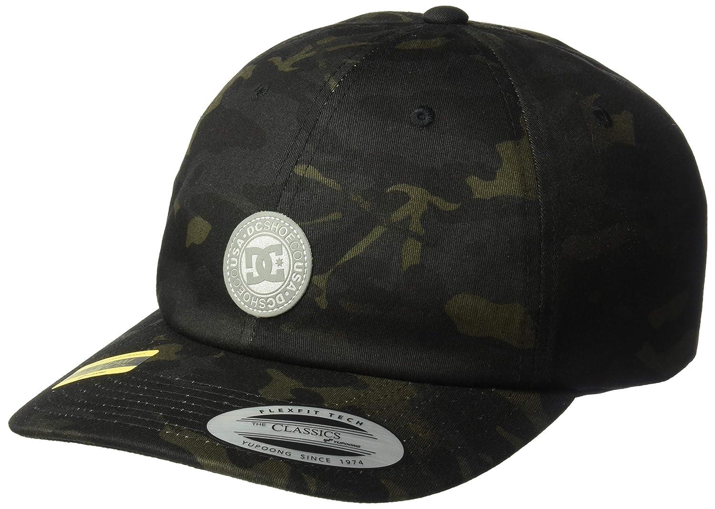 DC Shoes Mens CAM Hipper Strapback Hat Camo Green