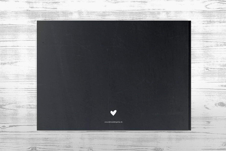 Gastebuch Hochzeit Hochzeitsalbum Ohne Fragen Chalkboard