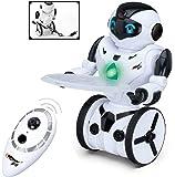 Robot Telecomandato della Top Race®, Robot intelligente autobilanciato, 5 modalità operative, Danza, Boxe, Guida, Caricamento, Gesticolazione. Trasmettitore a 2.4Ghz