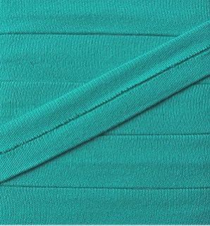 Gro/ßhandel f/ür Schneiderbedarf 3 m Jersey Einfassband Trikot elastisch 20 mm royal blau