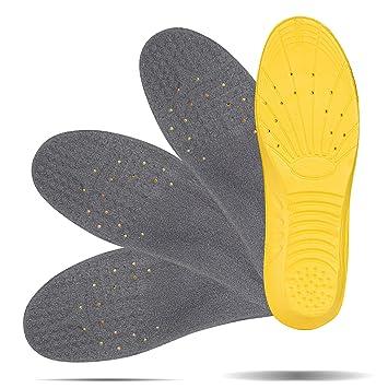 LIHAO 2 Pares de Plantillas Zapatos Unisex Plantillas Gel Deportivas (37 1/3-40 UE): Amazon.es: Deportes y aire libre