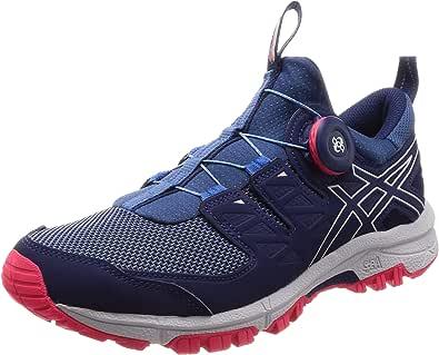Asics Gel-fujirado, Zapatillas de Entrenamiento para Mujer, Azul (Azure/Glacier Grey 400), 41.5 EU: Amazon.es: Zapatos y complementos