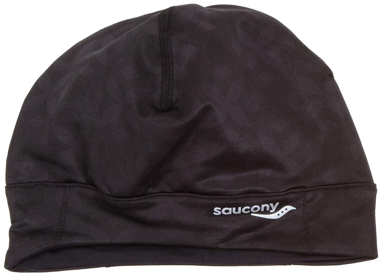 72c69c4d151 Saucony Drylete Ponytail Skull Cap(Black Print