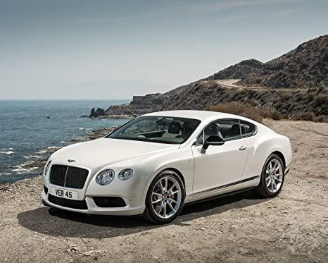 Amazon.com: Bentley Continental GT Póster de coche cartel ...
