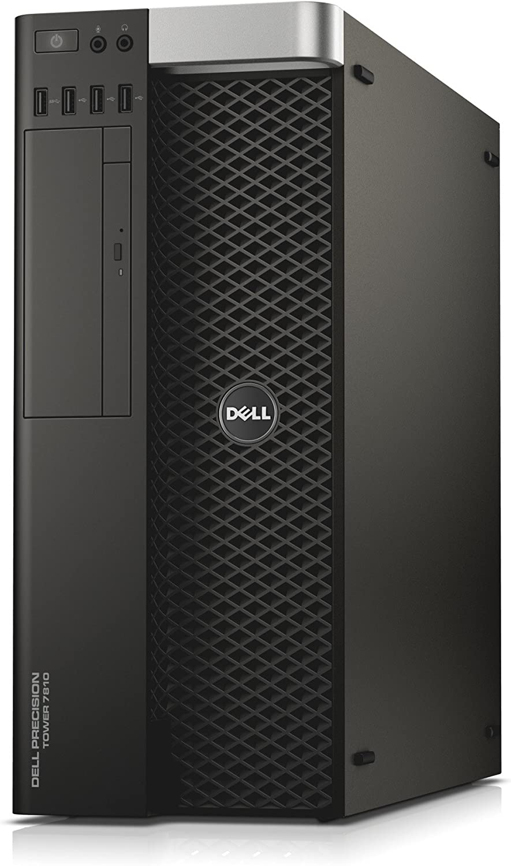 Dell Precision T7810 Workstation 2X Intel Xeon E5-2670 V3 2.3GHz 12-Core 128GB DDR4 Quadro NVS 315 480GB SSD, No Operating System (Renewed)