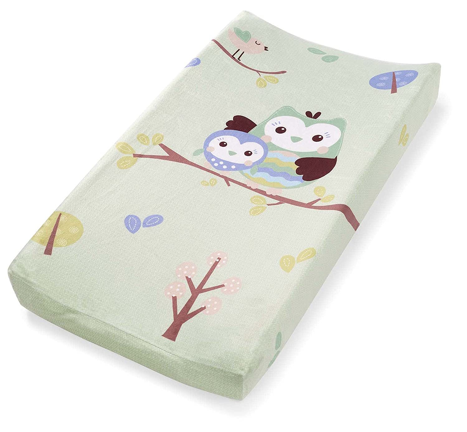 Summer Infant Changing Pad Cover, Who Loves You Owl 92493