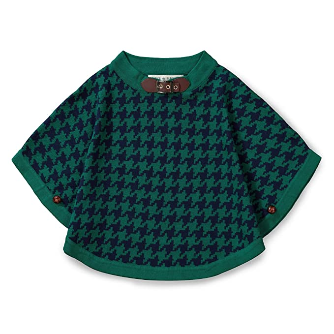 Hope & Henry Girls' Sweater Cape