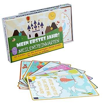 Mein Erstes Lebensjahr 40 Zauberhafte Karten That/'S Me Babycards