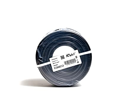 Cable H05VV-F Manguera 3x1,5mm 50m (Negro)