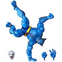 """Marvel Hasbro Legends Series 6"""" Collectible Action Figure Beast Toy (X-Men Collection) – with Caliban Build-A-Figure Part"""