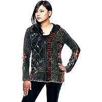 Rising International Women's Flowers Fire Jacket