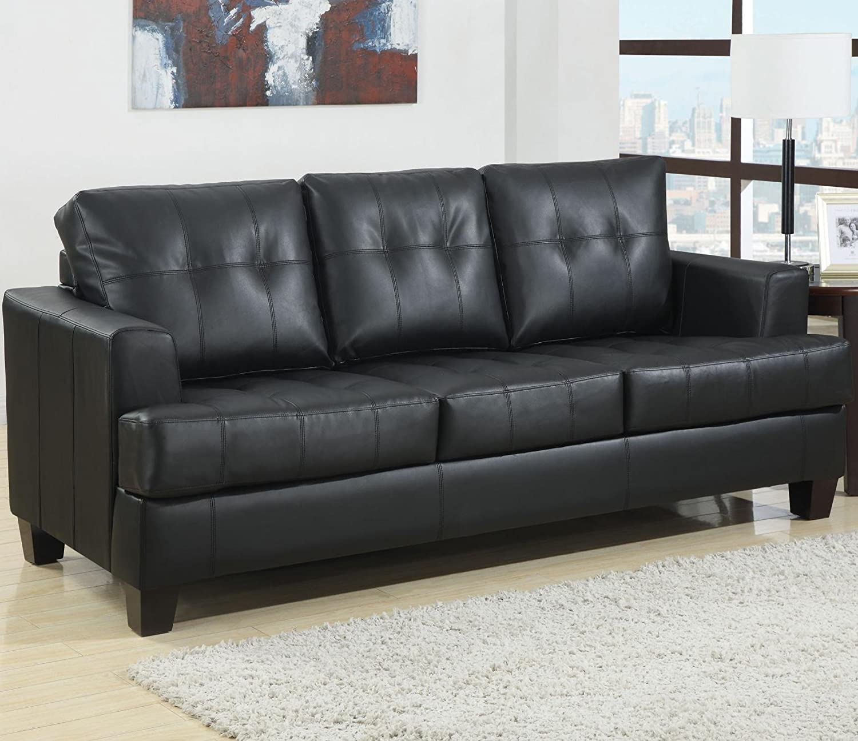 Amazon Coaster Home Furnishings Contemporary Sleeper Black