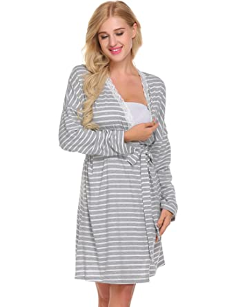 fb6d01ed60b02 L'amore Labor & Delivery Maternity Hospital Gown Best Baby Shower ...