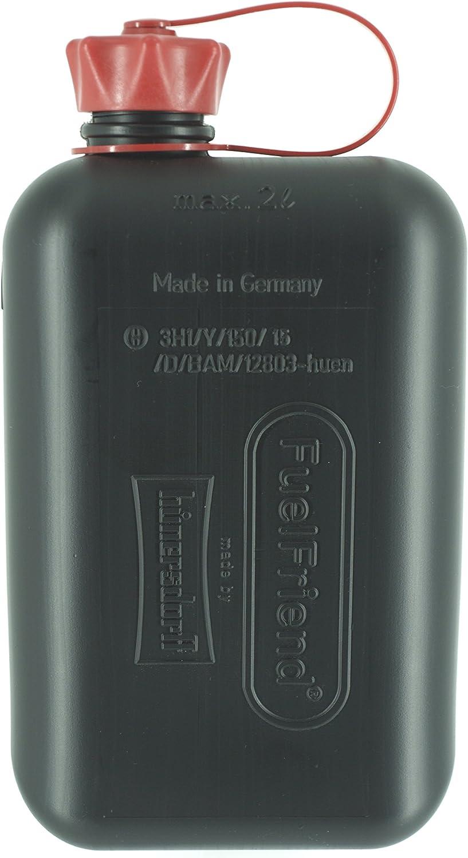 Fuelfriend Big Max 2 0 Liter Klein Benzinkanister Mini Reservekanister Mit Un Zulassung Auto