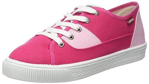 Levis Malibu S, Zapatillas para Mujer, Rosa (Noir Regular Fushia), 38