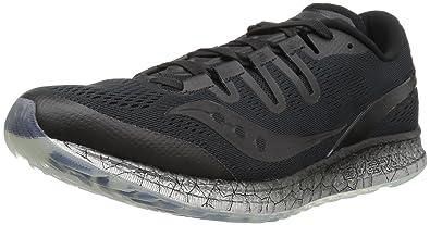 50e82d59 Saucony Men's Freedom ISO Running Shoe, Black, 10 M US: Buy Online ...