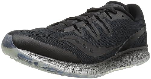 Zapatillas de running Freedom para hombre, negras, 14 M US: Amazon.es: Zapatos y complementos