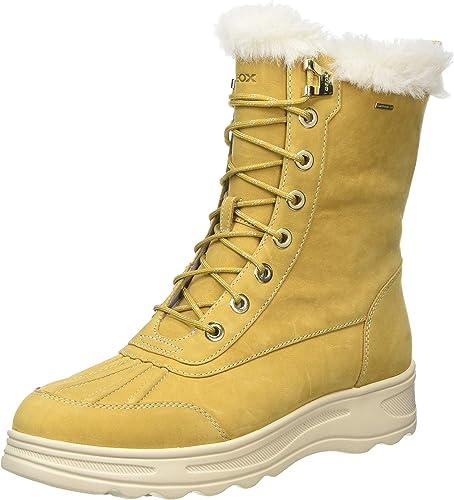 Geox D Backsie B ABX C Botas de Nieve para Mujer