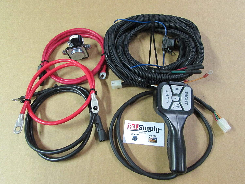 Amazon.com: Meyer Snow Plow Truckside Wiring Kit - Power Wires & Control  Wiring 15764 22154: AutomotiveAmazon.com