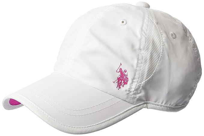 U.S. Polo Assn.. - Gorra de béisbol de Malla de Nailon para Mujer ... 53e43678641