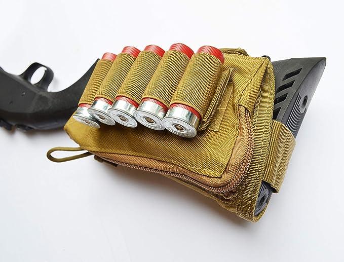 Details about  /Shotgun 12 Gauge Shell Holder Tactical MOLLE Magazine Pouch Quick Detach Carrier