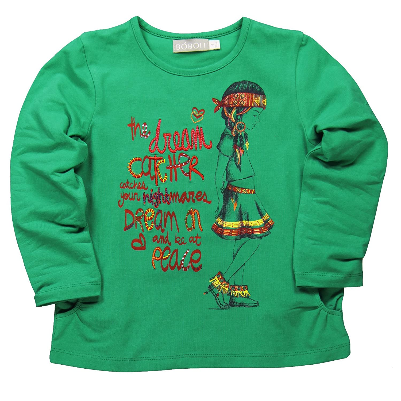 Boboli Baby-Mädchen T-Shirt Camiseta Punto Elástico 459086