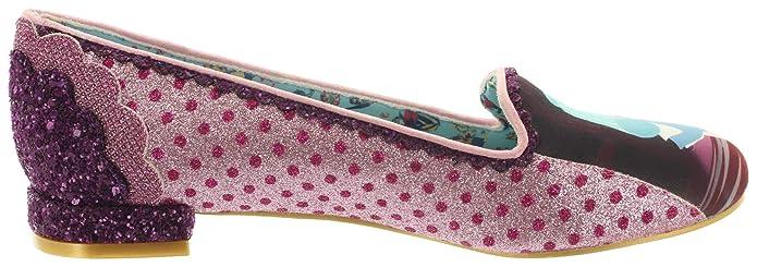 Alice in Wonderland Ballerinas Heres A Riddle 4329-17A Pink 37 Irregular Choice rnzEA5YIH