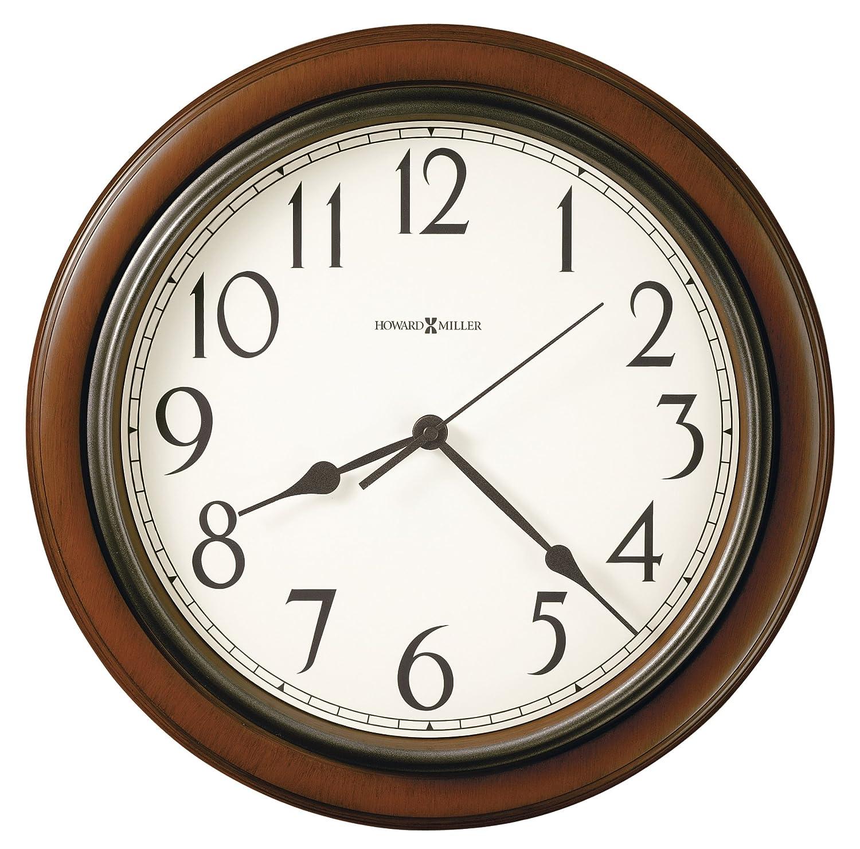 Howard Miller Kalvin Wall Clock 625-418 – Modern & Round with Quartz Movement