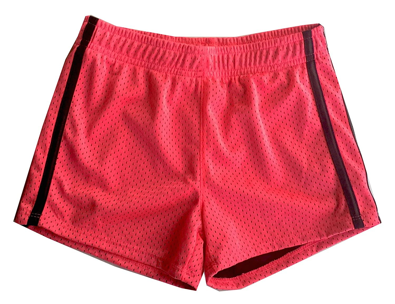 Layer 8 Girls Size Small Mesh Shorts Neon Pink
