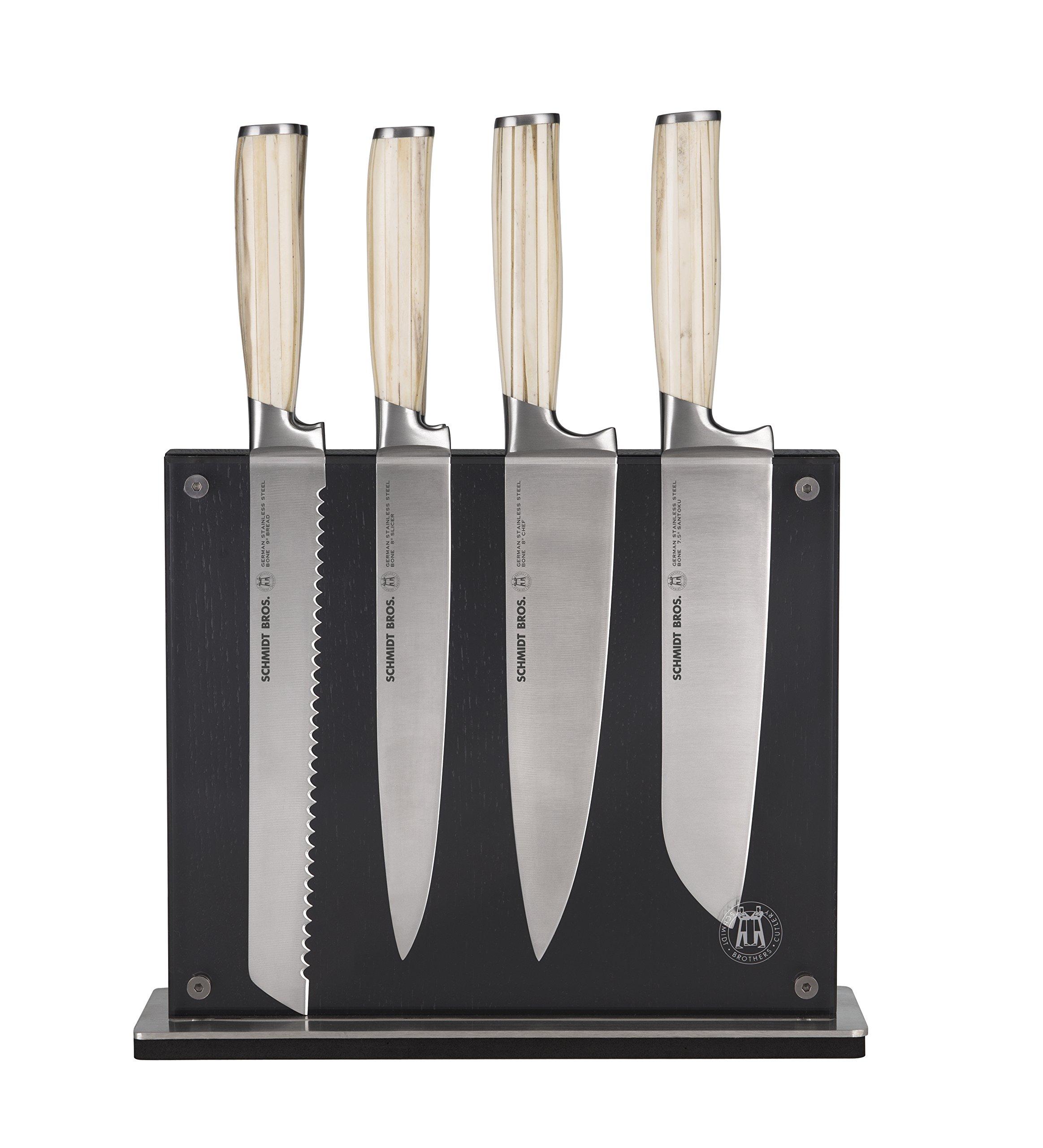 Hudson Home Schmidt Brothers Cutlery, SBBOS07,#20 Bone 7pc set, White