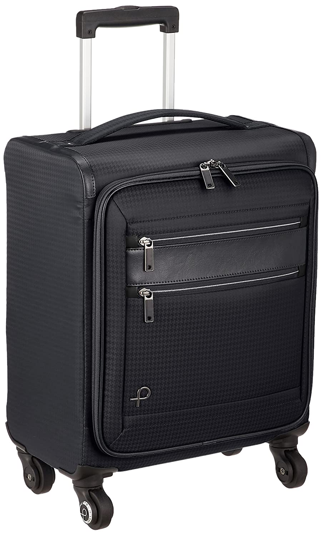 [プロテカ] スーツケース 日本製 フィーナST キャスターストッパー付 機内持込可 24L 40cm 1.9kg 12841 B079M9GGN3ブラック