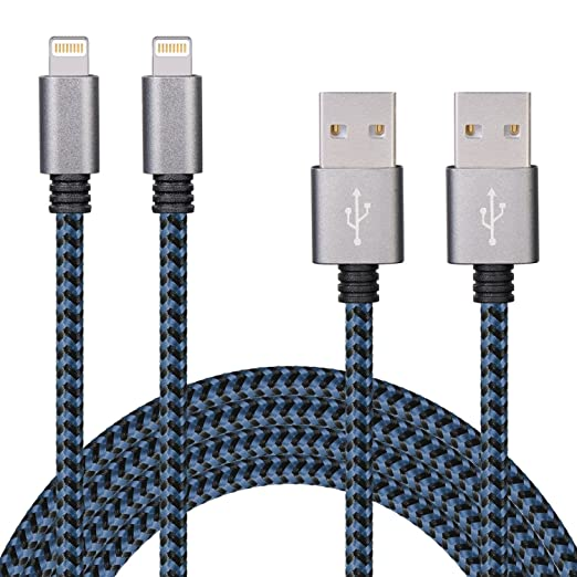 109 opinioni per SURWELL Cavo Lightning su USB 3m [2 Pack] Ricarica e Trasmissione Dati per Apple