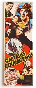 Captain's Courageous Movie Poster Fridge Magnet (1.5 x 4.5 inches)
